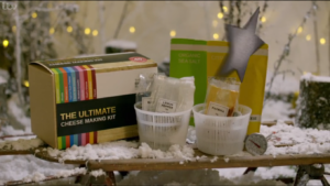 How to Spend It Well At Christmas – buy the ultimate cheese making kit from ITV here!