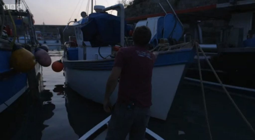 Cornwall: This Fishing Life's narrator is also a BBC producer and director!