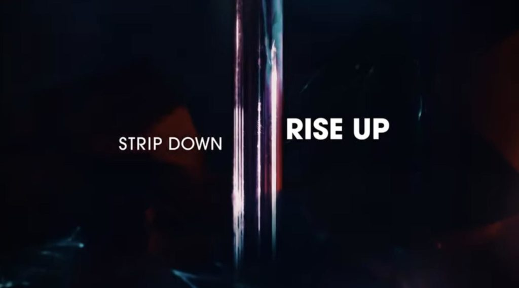 amber strip down rise up