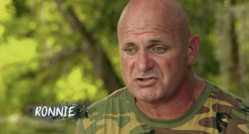 how old is ronnie on swamp people