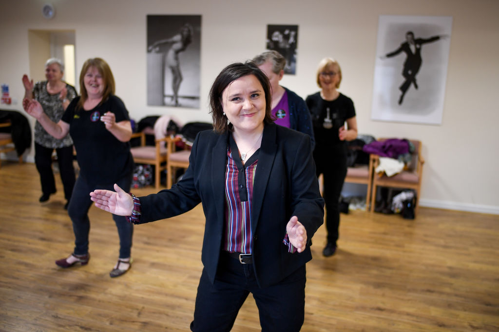 Susan Calman Joins Line Dancing Senior Citizens To Launch The National Lottery Awards 2018