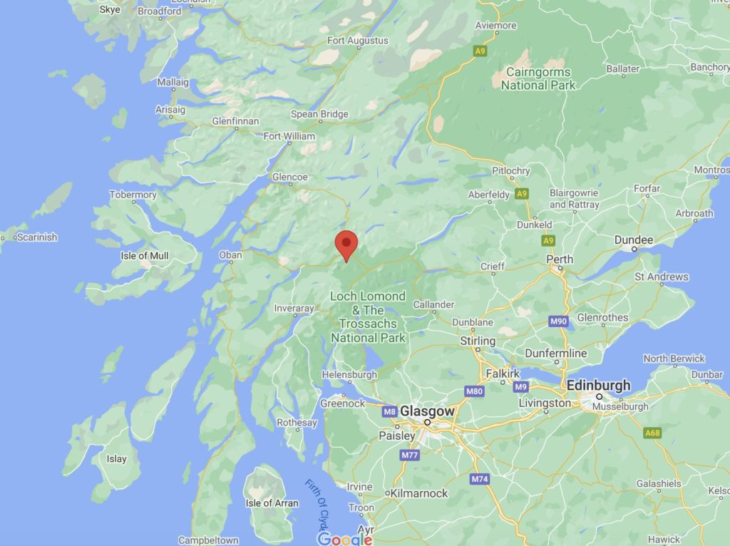 where is gold town scotland